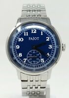 Orologio Pajot all stainless steel watch referenza pj 0116 clock men's montre