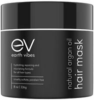 Earth Vibes Hair Mask with Argan Oil For Deep Conditioning and Hydration