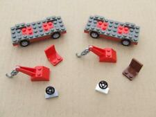 New Lego Tow Truck Car Set / Chassis / Axles / Tires / Steering Wheels / Parts