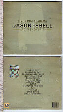 Jason Isbell And The 400 Unit , Live From Alabama  ( CD_Paper Sleeve )