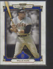 WILLIE MAYS   2014 TOPPS MUSEUM COLLECTION BLUE PARALLEL CARD #73 /99