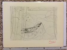 """Pablo Picasso """"Suite Vollard"""" Lithograph from 1952- COA"""