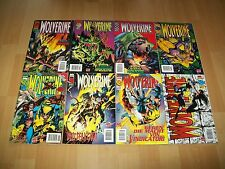 Einzelabgabe möglich- Marvel Panini Wolverine Vol. 1, Nr. 2 - 30 (1997), deutsch