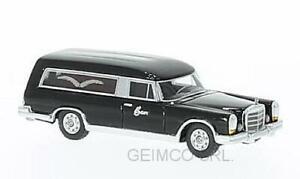 Mercedes 600 Pullmann Carro Funebre Funeral Hearse 1969 BoS Models 1:87 BOS87016