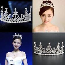 Crystals Bride Wedding Big Crown Hair Jewelry Accessories Hot Fashion Headdress