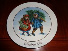 Avon Collectors Plate Christmas Plate 1982
