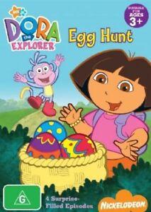 """Dora The Explorer """" EGG HUNT """" : DVD - Nickelodeon - REGION 4"""