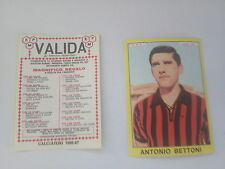 FIGURINA CALCIATORI PANINI 1966 / 67 -FOGGIA - ANTONIO BETTONI- NUOVA-VALIDA