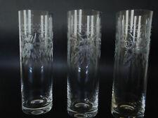 orginal Theresienthal 3 Longdrink Connaisseur Radgravur ziseliert  Glas #Th