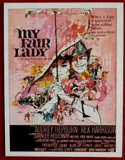 AUDREY HEPBURN - Individual Card # 10 - Movie Idols Set - MY FAIR LADY