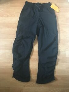 CHAMPION Active Wear Pants Junior Ruched Side Size L (10-12) NWT