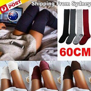 Fashion Women Girl Over The Knee Socks Thigh High Long Cotton Leggings HOT Socks