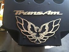 Plasma cut Large Trans Am Bird and script set Metal Man Cave/Garage Wall Art