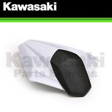 NEW 2014 - 2015 NINJA 300 GENUINE KAWASAKI WHITE SEAT COWL 99994-0354-25Y