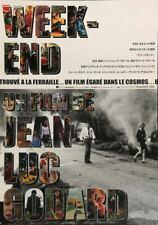 WEEKEND Japanese B2 movie poster R2002 JEAN-LUC GODARD MIREILLE DARC NM