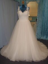 Sophia Tolli Wedding Dress Nightingale Y11550 Size UK 14