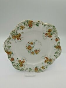 "Victorian ""The Foley China"" Wileman Trailing Daisies Plate, Empire Shape 270002"