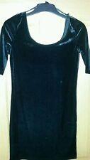 Unbranded 3/4 Sleeve Velvet Regular Size Dresses for Women