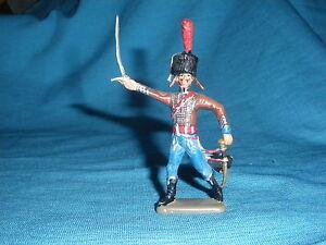 492A Starlux Atlas Figurine Lead Empire Hussar 2ème Rgt 1/32