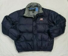 Polo Jeans Co. Ralph Lauren Mens Navy Puffer Down Coat Size L