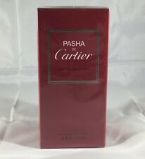 Pasha De Cartier By Cartier 3.3 / 3.4 Oz EDT Spray NIB Sealed Cologne For Men