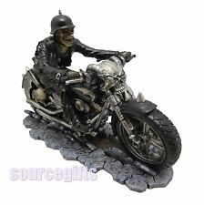 NEW HELL ON THE HIGHWAY JAMES RYMAN BIKER SKELETON FIGURINE ORNAMENT GOTHIC