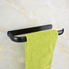 Oil Rubbed Bronze Bathroom Towel Rack Holder Round Towel Bar Hangers Zba187