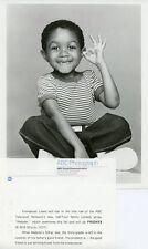 EMMANUEL LEWIS SMILING PORTRAIT OK SIGN WEBSTER ORIGINAL 1983 ABC TV PHOTO