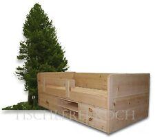 ZIRBENKINDERBETT-Massivholzbett aus Zirbenholz