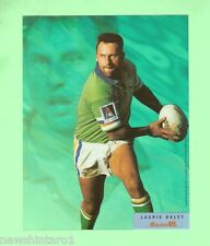 #D57. LARGE RUGBY LEAGUE ACETATE MASTERCEL CARD - LAURIE DALEY, CANBERRA RAIDERS