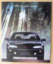 CHEVROLET Cavalier 1996 range glossy deluxe brochure catalog - Z24 Convertible