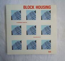 Pere Joan Ravetllat, BLOCK HOUSING, GG, 1992