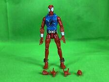 "Scarlet Spider Marvel Legends figure Rhino wave 6"" loose Spider-Man Hasbro"