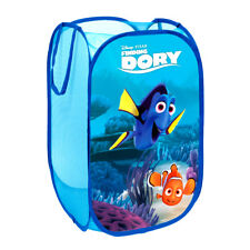 Disney DORY Kids Bedroom Pop Up Folding Car Organizer Toys Storage Basket S91