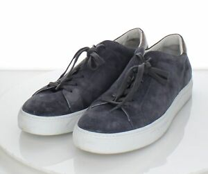 95-76 $350 Men's Sz 15 M To Boot New York Pacer Suede Lace Up Sneakers In Gray