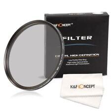 58mm Ultra Slim CPL Circular Polarizing Filter for DSLR Camera by K&F Concept