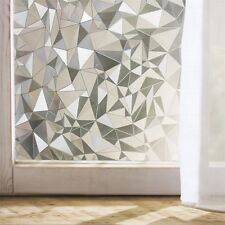 Static Cling Frosted Stained 3D Glass Window Film Sticker Privacy Home Decor
