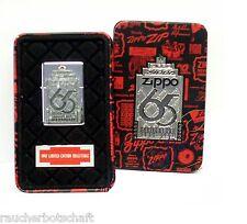 Zippo 65th Benzin Feuerzeug LIMITED EDITION aus 1997