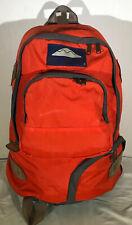 Vintage Jansport Heritage Kegger Backpack Orange Ember Skip Yowell Design Retro