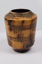 Ausgefallene Keramik Vase wohl Fohr Abstraktes Design Pottery midcentury 1023/20
