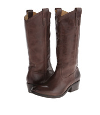 NIB $378 FRYE Carson Pull On SMOKE Washed Antique Boots Womens 6 M