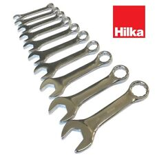 Hilka 16501002 Pro Craft Stubby Combination Spanner Set Metric 10-piece