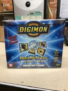 DIGIMON Digi-Battle Card Game Series 1 Sealed Booster Box 1999/2000