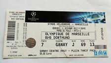 Olympique vs BVB Borussia Dortmund ticket Champions League 2013