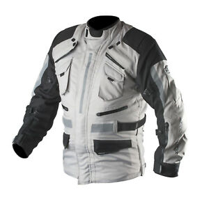 New AGVsport Navigator Adventure Motorcycle Jacket Waterproof CE Armour Vented
