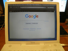 New ListingApple iBook G4 14-inch A1134 1.42Ghz Mid-2005 Powerbook w/spare battery