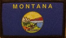 MONTANA State Patch With VELCRO® Brand Fastener Military Shoulder Tactical  #7