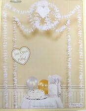 Todo En Uno Flores & Corazones habitación Colgante Decoración Kit-Bodas, Compromisos