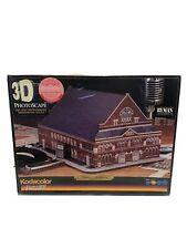 Kodacolor Three Dimensional 3D Photoscape Ryman Auditorium Moderate Skill Puzzle