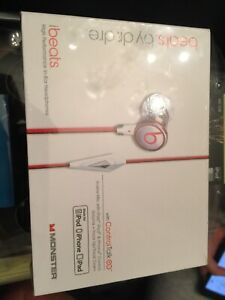 New OEM Beats Monster ibeats Earbuds ControlTalk 129590-00 050644587801 - CHROME